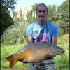 "David ""Mr Messy"" and his carp"