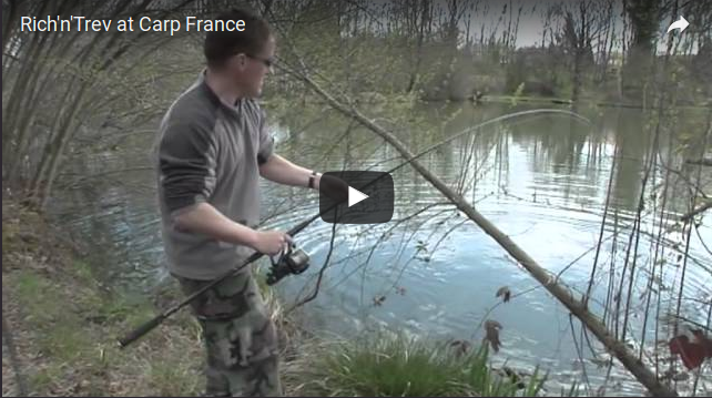 Rich'n'Trev at Carp France
